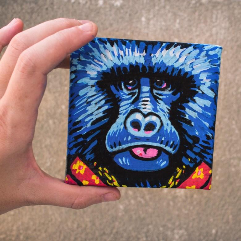 Kiki le Petit Gorille