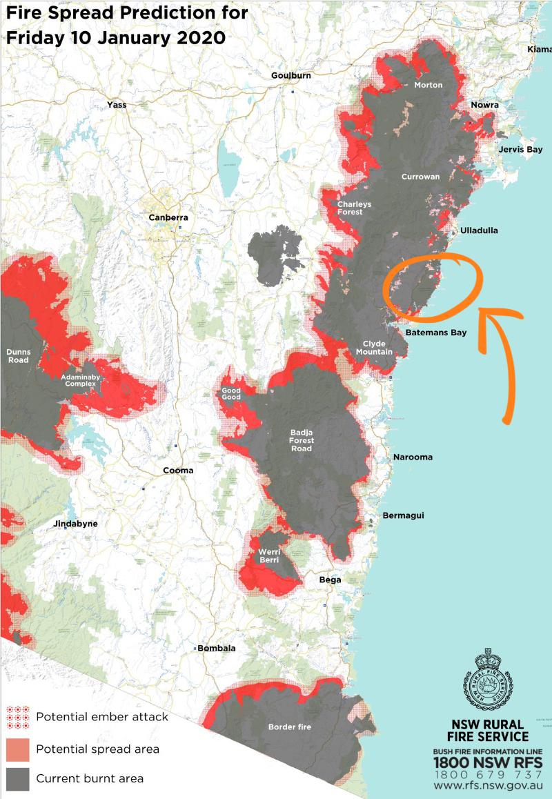 Bushfires Australie