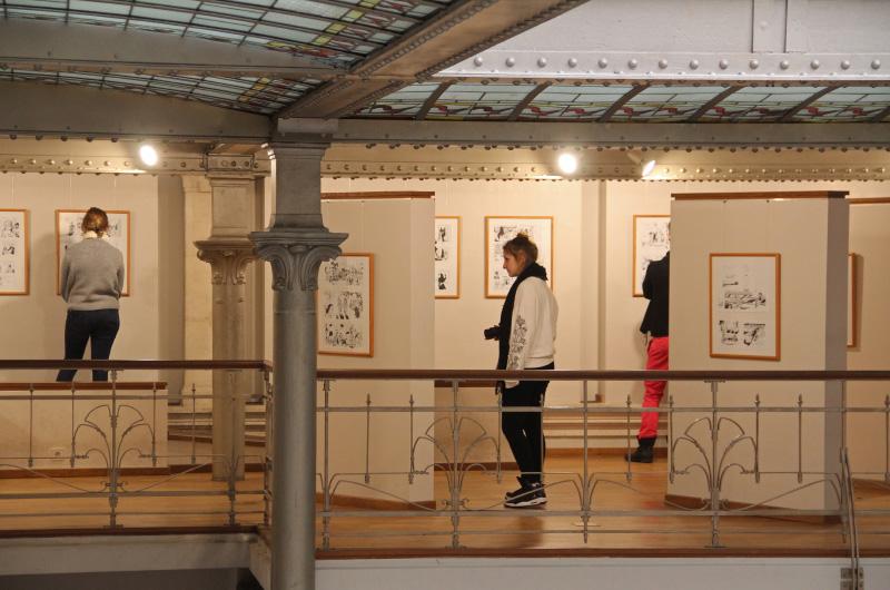 Vernissage exposition Le Voile Noir Bruxelles