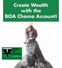 BOA Chama Account