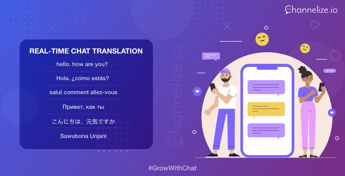 Real time chat Translator