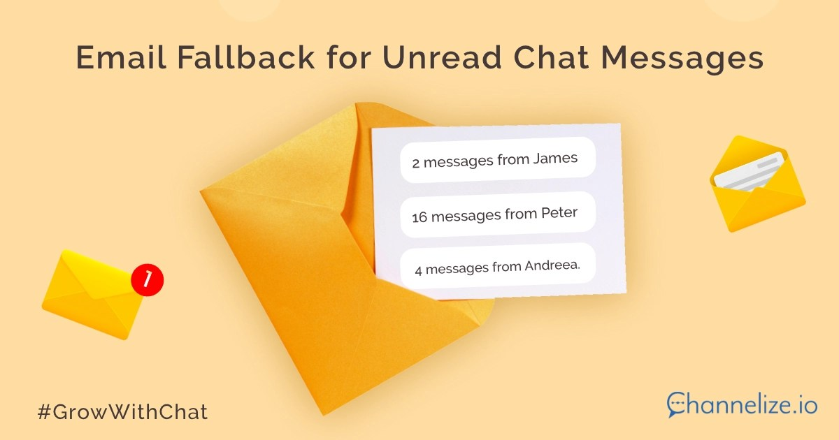 Email Fallback for Unread Chat Messages
