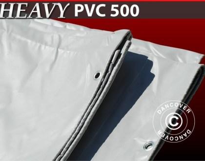 Bâche de bateau-10X12-M-PVC-500-GM²-GREY
