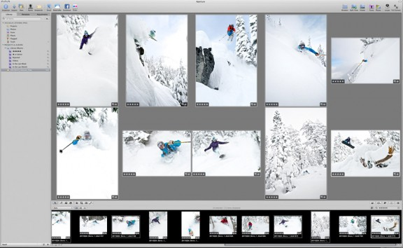 Aperture Photo Editing