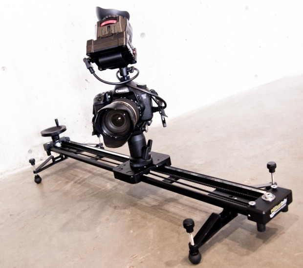 Zacuto EVF and Kessler Pocket Dolly