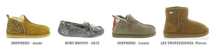 Tendance cocooning chaussons