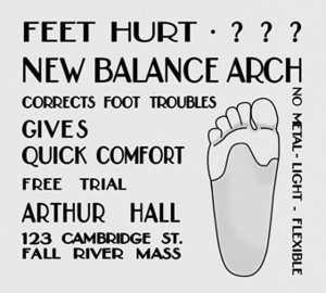 New Balance Publicité
