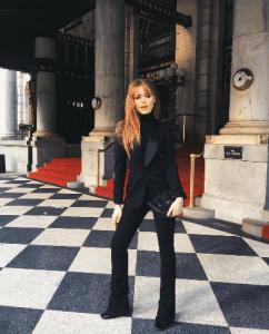 Look Masculin-Féminin : Kristina Bazan