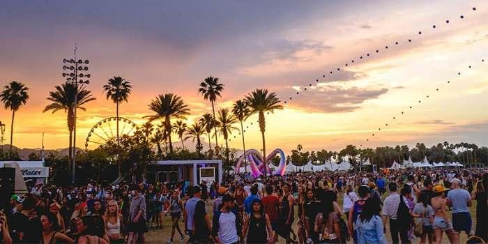 Chaussuresà Coachella