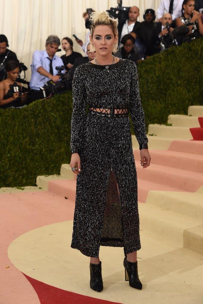 Gala Met chaussures : Kristen Stewart