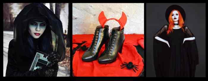 chaussuresonline-halloween-déguisement-bottine-NeroGiardini-sorcière-diablesse-talons-femme-tendance