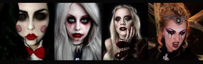 chaussuresonline-halloween-déguisement-maquillage-idée-tedance-vampire-saw-effrayant-look