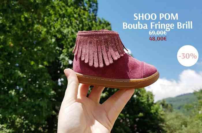 ChaussuresOnline-blog-ShooPom-Boubafringebrill-bordeaux-bébé-fille-gris-franges-paillettes-chaussures-soldesd'hiver2019-tendance-mode-style-