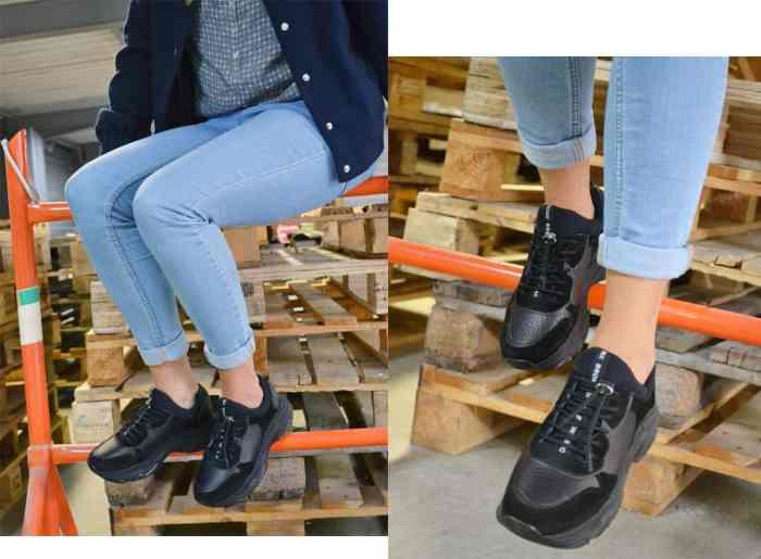 ChaussuresOnline-chaussures-dadshoes-dadsneakers-basketsXXL-noir-bimatière-idéelook-confort-mode-tendance-bronx-66167G01