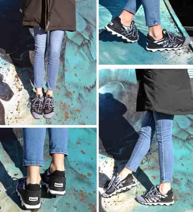 Sorel-ChaussuresOnline-blogchaussure-baskets-printemps2019-Nouvelleco-kineticlace-bleu-noir-lacets-sneakers