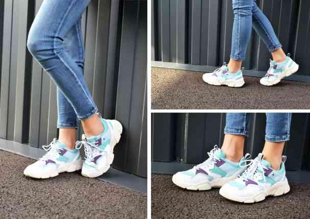 chaussuresonline-chaussures-dadshoes-femme-tomyhilfiger-basketspastels-sneakers-chunkymixedtextilerunner-bleu-violet-mode-tendance-nouvellecollecton-semellesXXL-sportwear-streetwear-printempsété2019