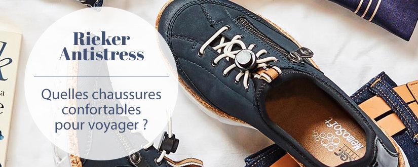 Quelles chaussures Rieker choisir pour voyager ? La