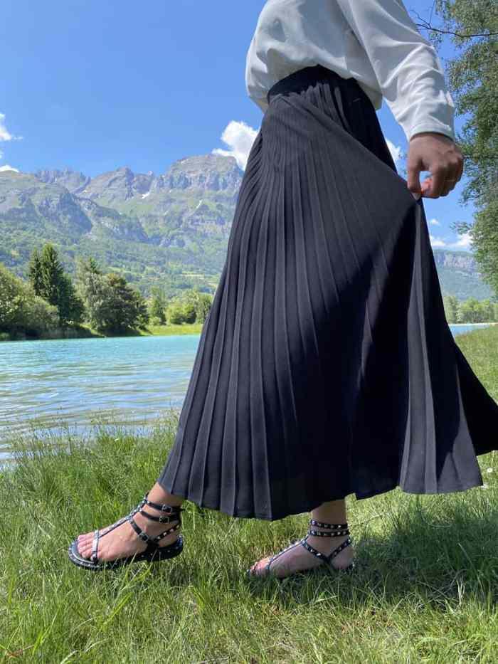 Chaussures les tropéziennes. Modèle CASSIE noir. Disponibles sur chaussuresonline.com