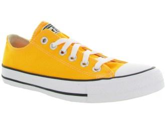 converse basse jaune - chaussuresonline
