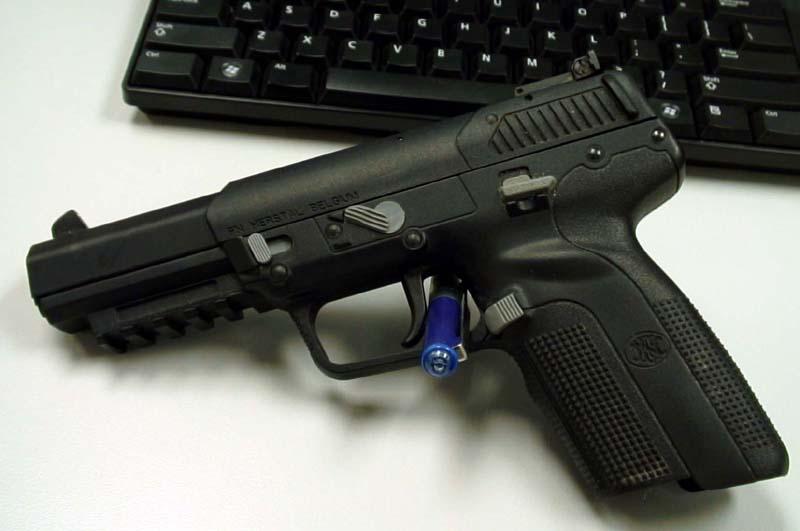 Is the FN Herstal Five-seveN 5.7x28mm Pistol Suitable for Civilians?