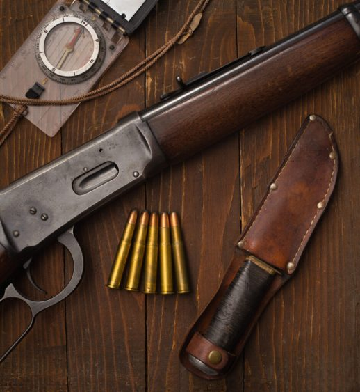 .30-30 Winchester Ammunition and Lever-Action Rifle