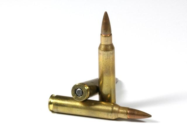 .223 Remington cartridges