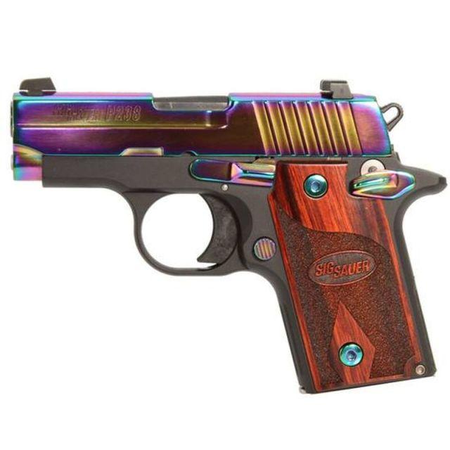 SIG P238 Rainbow Titanium