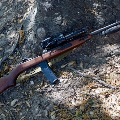 M1 Carbine with scope