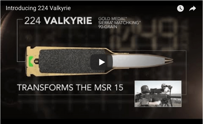 Federal Ammunition's 224 Valkyrie video