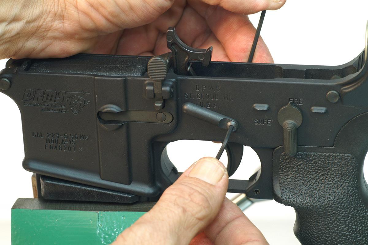 AR-15 Trigger Basics - The Shooter's Log