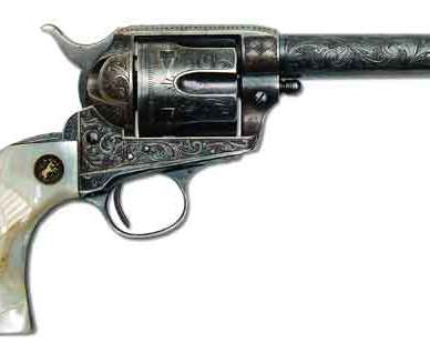 Western lawman Jeff Davis Milton's, Colt SAA Sheriff's Model