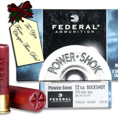 Federal Power-Shok 12 Gauge Buckshot