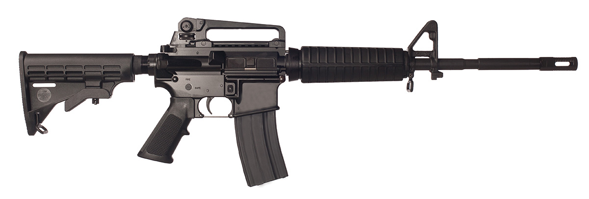Bushmaster XM-15 rifle chambered in 7.62x39mm