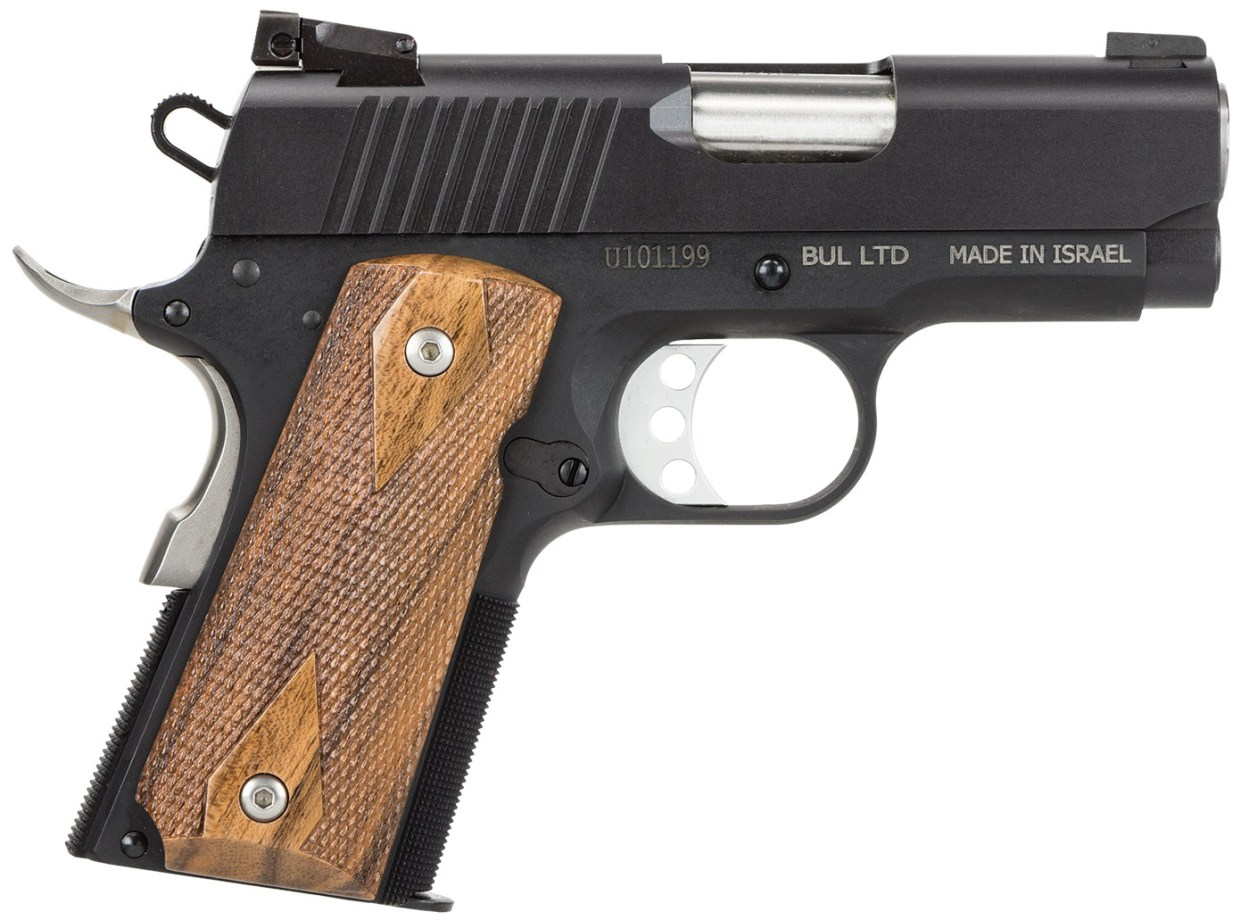 Magnum Research Desert Eagle 1911U Undercover Semiautomatic Handgun with Wood Grips