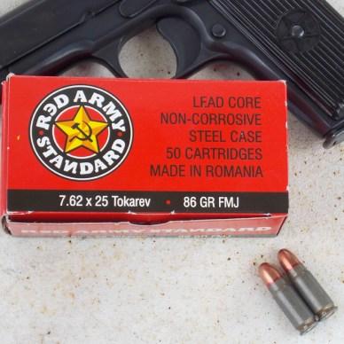Red Army 7.62x25mm Tokarev