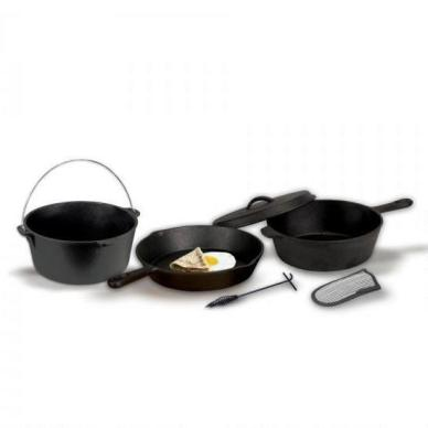 Stansport Cast Iron Cook Set