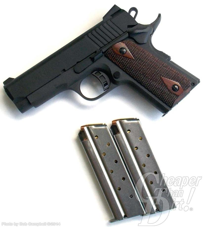 Citadel 9mm 1911 and two magazines