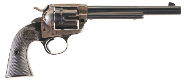 Colt Bisley Model Single Action Army Revolver