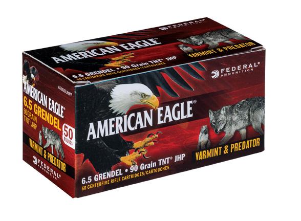 American Eagle 6.5 Grendel ammunition box