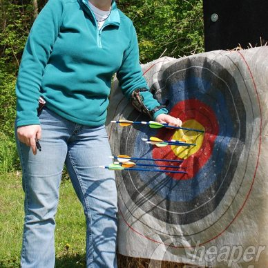 Becoming an Outdoor Woman, on target