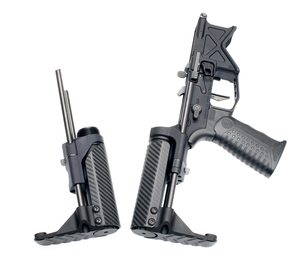 Battle Arms Development VERT stock folded