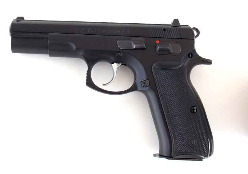 CZ 75 B pistol left side
