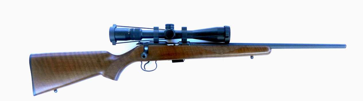 CZ 455 rifle, Right profile