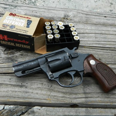 Charter Arms Bulldog revolver with ammo