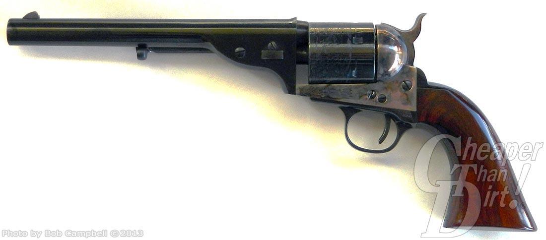 Cimarron Open Top revolver left side