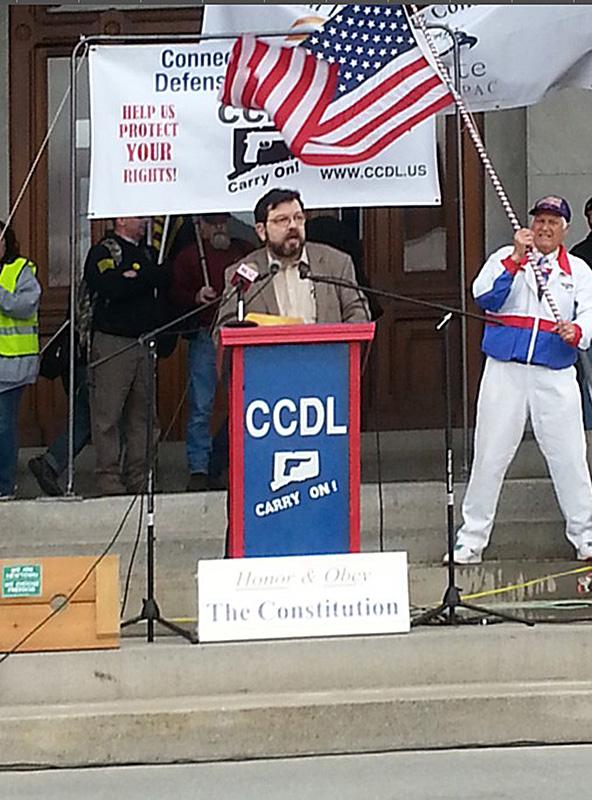 David Codrea at the Podium