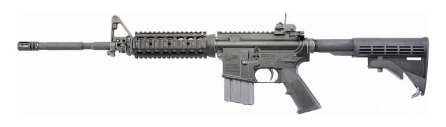 Colt LE6920 Socom ar-15 rifle black left side profile view
