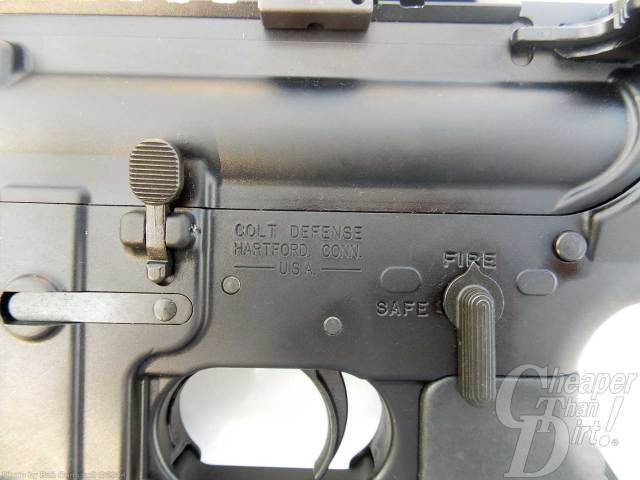 Colt M4A1 quality control