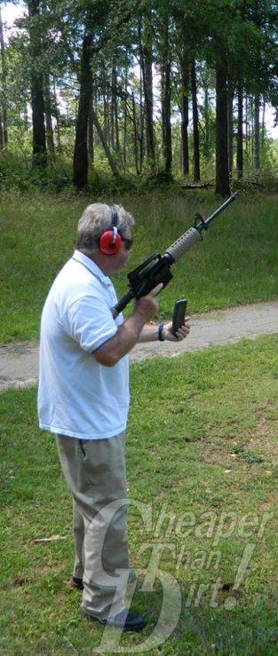 Core Rifle Systems Core 15 AR-15 magazine change