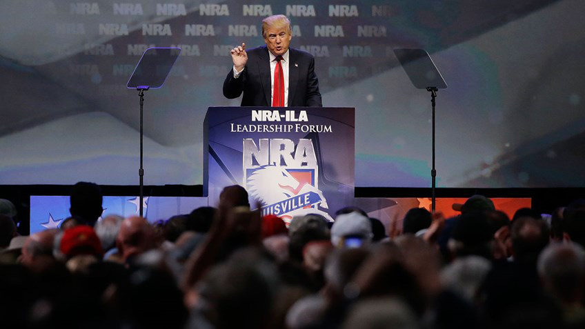 Donald Trump at NRA Leadership Forum